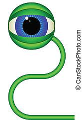 緑, eye.