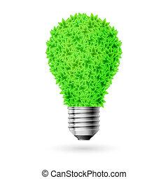 緑, lamp.