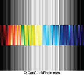 線性, 形式, colour., 插圖, 矢量, 剝去, 結构
