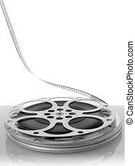線軸, 電影