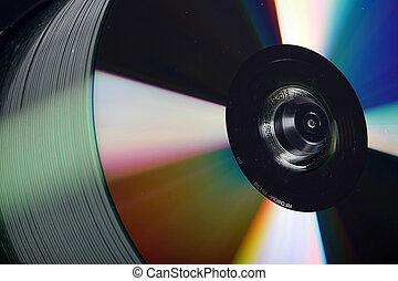 線軸, cd/dvd