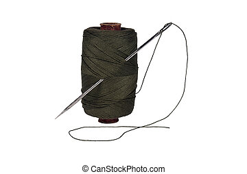 線軸, thread., 針