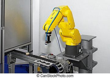 線, ロボット