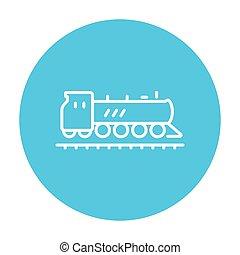 線, 列車, icon.