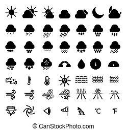 線, 天候, アイコン