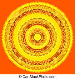 編まれる, パターン, 幾何学的