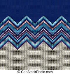 編まれる, パターン, 幾何学的, seamless, 民族