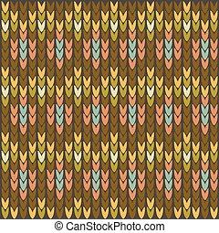 編まれる, パターン