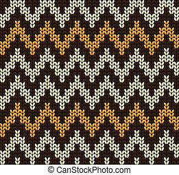 編まれる, 羊毛, ベクトル, 背景