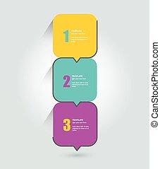 編號, template., elements., infographics