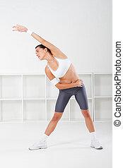 練習, 婦女伸展