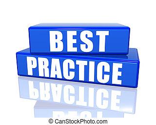 練習, 最も良く