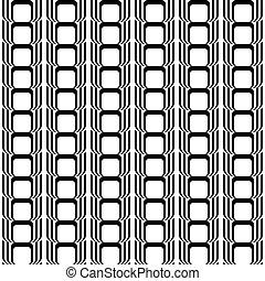 縦, パターン, seamless, デザイン, 黒, 白, 幾何学的