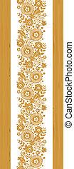 縦, パターン, seamless, 背景, textured, 花, ボーダー