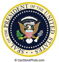 總統, 封印