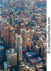 繁忙, 纽约城市