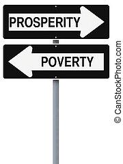 繁栄, 窮乏, ∥あるいは∥