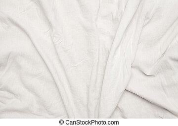 織物, 白い背景