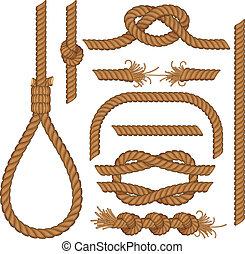 繩子, 元素