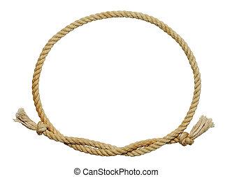 繩子, 橢圓形