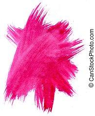 繪, 粉紅背景