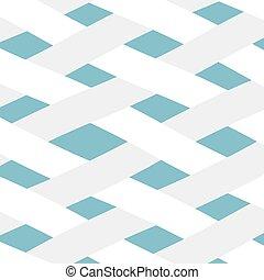 纖維, 圖案, 交織, 矢量, 插圖, 白色, -