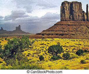 纪念碑山谷, 亚利桑那