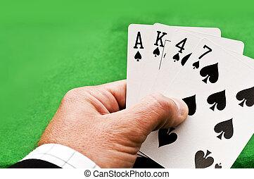纸牌, 游戏