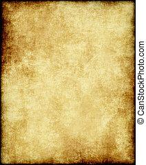 纸, 老, 或者, 羊皮纸