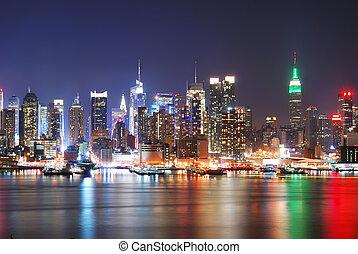 纽约城市skyline