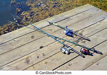 线, 钓鱼