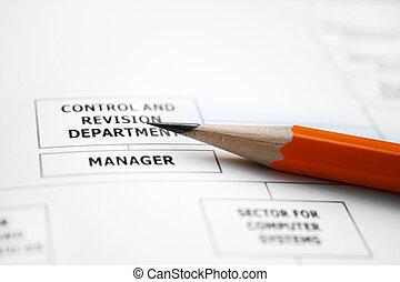 组织, 公司, 图表
