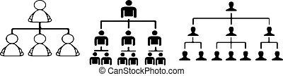 组织, 白色, 结构, 背景, 图标