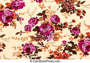 织品, 色彩丰富, 片段, 升高, 背景, retro, 挂毯