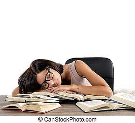 结束的睡眠, 书
