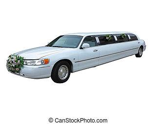 结束, 名人, 隔离, 背景, 婚礼, 白色, 轿车, 事件, 特别