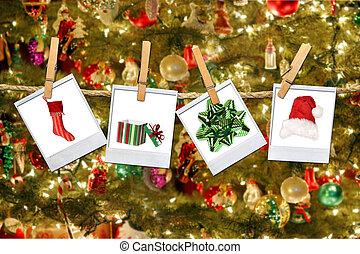 绳索, 形象, 圣诞节, 相关, 悬挂