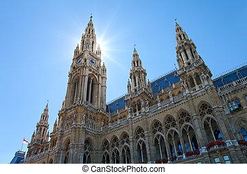 维也纳, 市政厅, 奥地利
