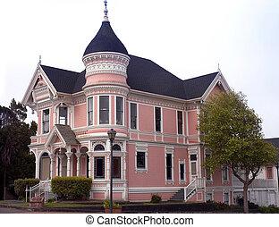 维多利亚时代的人房屋