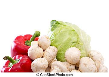 维生素, 蔬菜, 收集