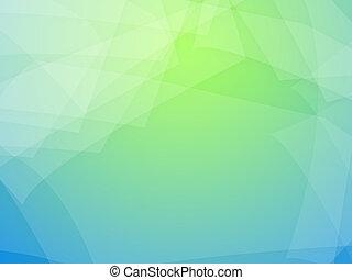 绿色的蓝色, 背景