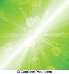 绿色, 污点, -, 矢量, 摘要, backgr