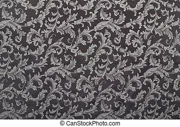 缎子, 模式, 黑色的背景