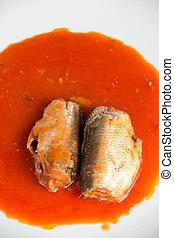 缶詰にされた魚