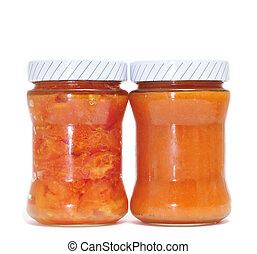 缶詰にされる, トマト, sofrito