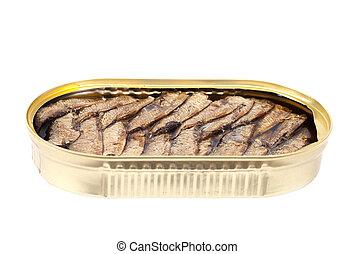 缶詰にされる, fish.