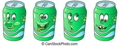 缶, コレクション, ソーダ