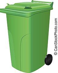 缶, 屑, 緑