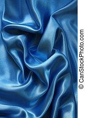 缶, 青い絹, 背景, 滑らかである, 優雅である, 使用