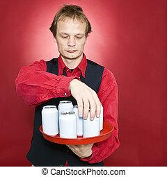 缶, rearranging